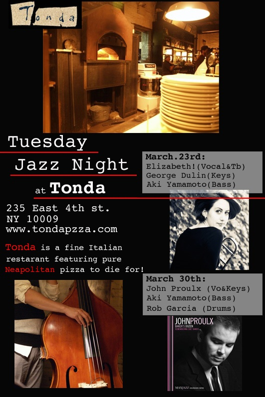 Tonda, March